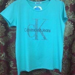 Νέες μπλούζες Calvin Klein, 3 χρώματα, βαμβάκι