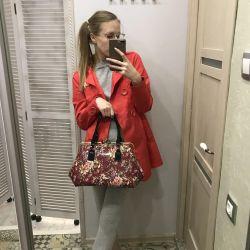 Bag and raincoat