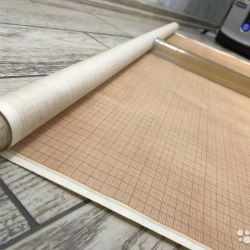 Brown paper for drawing 90 cm USSR