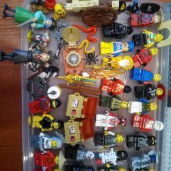 lego 30 rakamlar + sepeti + silah