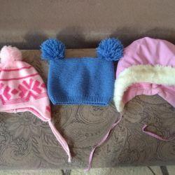 Καπέλα για κορίτσι 2-4 χρόνια
