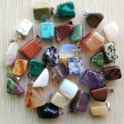 natural stone pendants