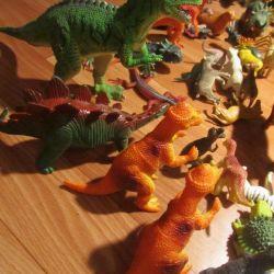Игрушки Динозавры