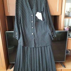 платье костюм шифоновый новый