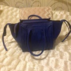 Bag blue Celine
