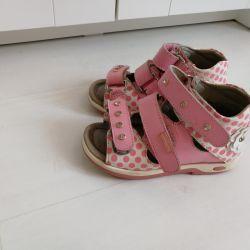 Sandals orthopedic shoes r. 28