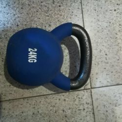24kg ağırlık Hediye olarak teslim. yeni