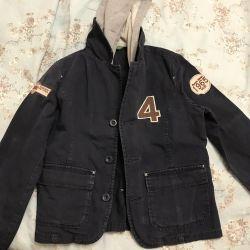 Пиджак с капюшоном для мальчика