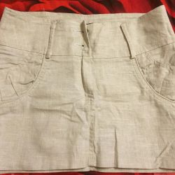 New linen skirt