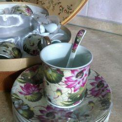Новий чайний сервіз