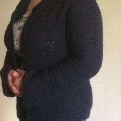Cardigan wool 100% -48r