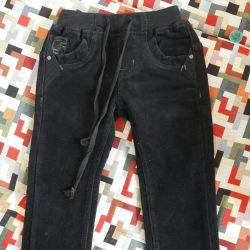Pantaloni pentru copii calzi