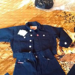 Costum de denim pentru copii Levi Straus