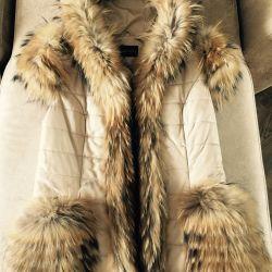 Vest skin fur snow queen