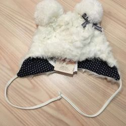 Children's things, a new hat for a girl. 47
