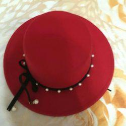 Şapka kadın yeni 57cm