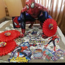 """Decor pentru vacanță în stilul """"Spiderman"""""""