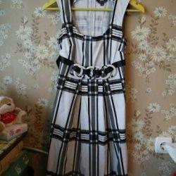 Φόρεμα με ζώνη 42 r