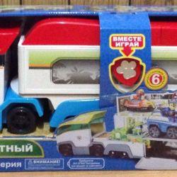 Car transporter Paw Patrol (2 colors)