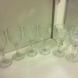 Glasses new 6 pcs