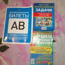 Sınav pda için bir dizi bilet ve görevler