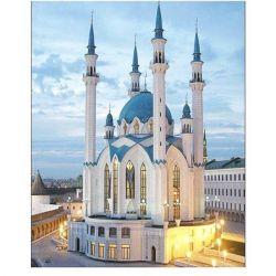 Τζαμί ψηφιδωτού μωσαϊκού κέντημα