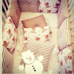 Шью Бортики в кроватку