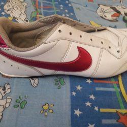 Krasovki Nike natural leather 41r