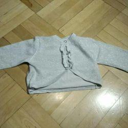 Sweatshirt for a festive dress