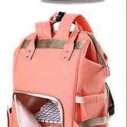 Bag backpack for moms