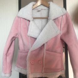Σακάκι ροζ μπουφάν νέο