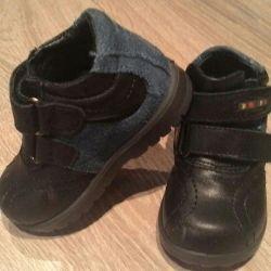 Δερμάτινα παπούτσια.