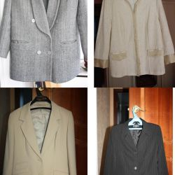 Suit RICO PONTI (Italy), jackets for women