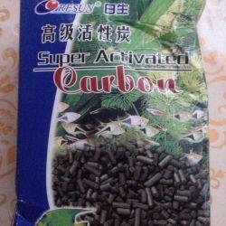 Coal for chemical cleaning of the aquarium Resun