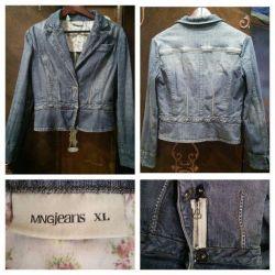 Пиджак джинсовый жакет Mng