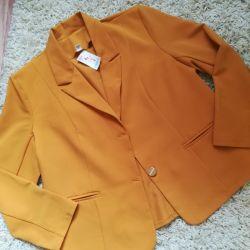 Лeгкий пиджак 56-58