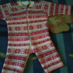 I will sell the overalls knitted by the machine!