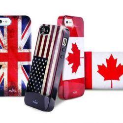 Retro κάλυψη για τις σημαίες του iPhone 5 / 5s του κόσμου
