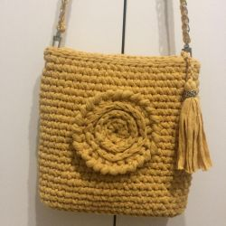Örme çanta
