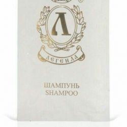 Oteller için tek kullanımlık şampuanlar