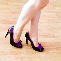 Patent deri ayakkabı 36