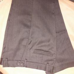 Pantolon okullu çocuk% 100 yün p 146-152cm