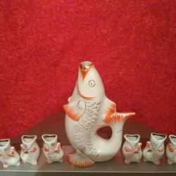 Porcelain fish !!!