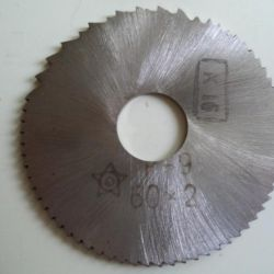 Disk milling cutter 60x2
