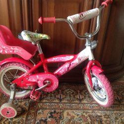 Bicicleta Winx pentru fete 2-6l
