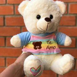 Stuffed animals bear