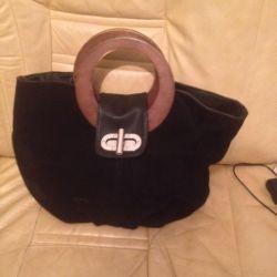 Bag, new, suede