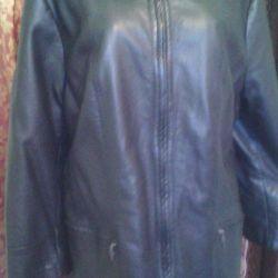 νέο δερμάτινο σακάκι 58-60