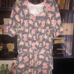 Ζεστό φόρεμα-πουκάμισο