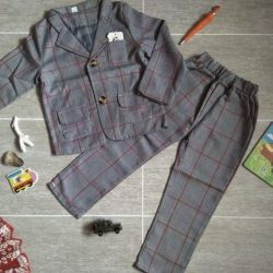Suit cage. Jacket and trousers. 90-100cm